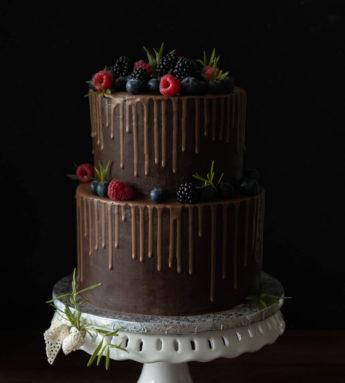 Tort od podstaw - drip cake